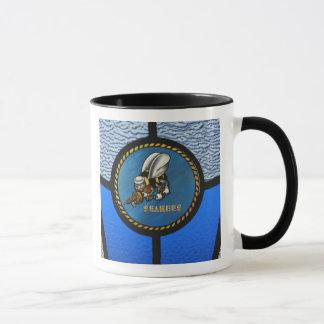 A single Seabee logo Mug