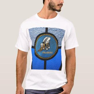 A single Seabee logo T-Shirt