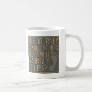 A Single Step Coffee Mug