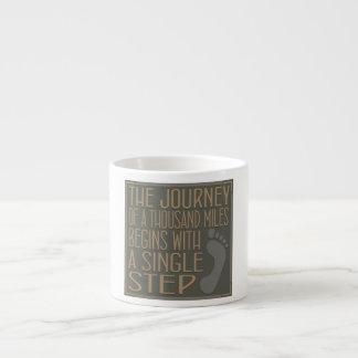 A Single Step Espresso Cup