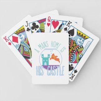 A sirve a casa baraja de cartas