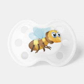 A six-legged insect baby pacifiers