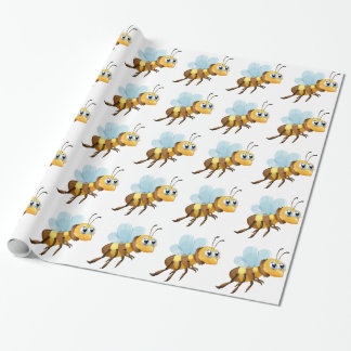 A six-legged insect wrapping paper