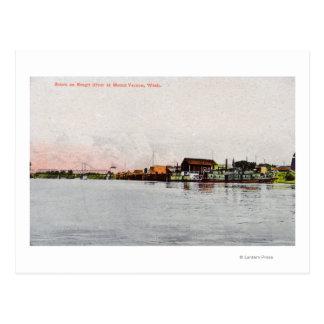 A Skagit River Scene Postcard