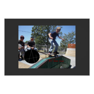 A+ Skate team-alex,5050 Poster
