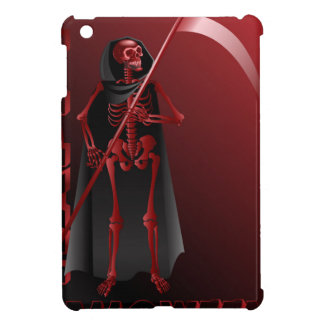 A skeleton with a scythe Happy Halloween 2 Cover For The iPad Mini