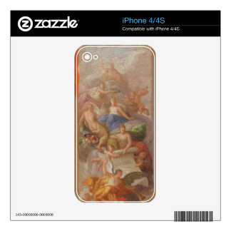 A Sketch of Gratitude Crowned by Peace, with Other Decal For iPhone 4