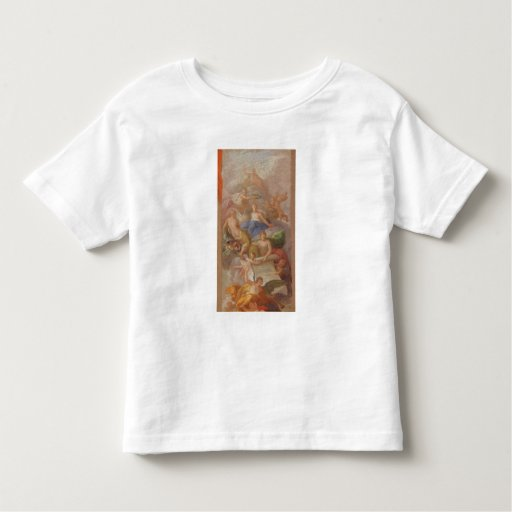 A Sketch of Gratitude Crowned by Peace, with Other Toddler T-shirt