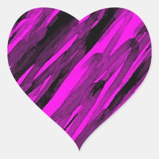 A Sketchy Heart Heart Sticker