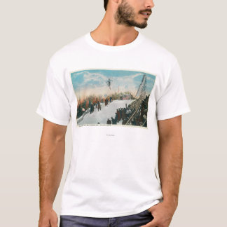 A Ski Tournament Jump T-Shirt