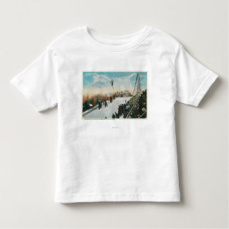 A Ski Tournament Jump Toddler T-shirt