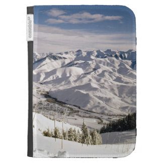 A Skiers View from the Top of Bald Mountain Cases For Kindle