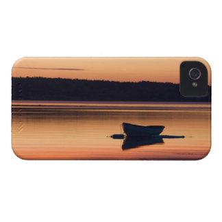 A skiff at sunrise in Eggemoggin Reach in Little iPhone 4 Case