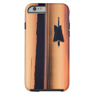 A skiff at sunrise in Eggemoggin Reach in Little Tough iPhone 6 Case