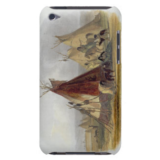 A Skin Lodge of an Assiniboin Chief, plate 16 from Case-Mate iPod Touch Case