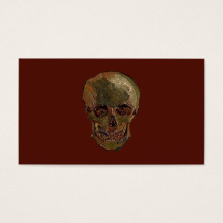A Skull by Vincent van Gogh Business Card