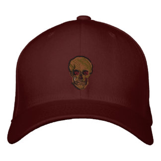 A Skull by Vincent van Gogh Embroidered Baseball Cap