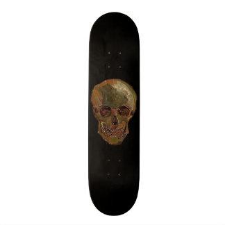 A Skull by Vincent van Gogh Skateboard