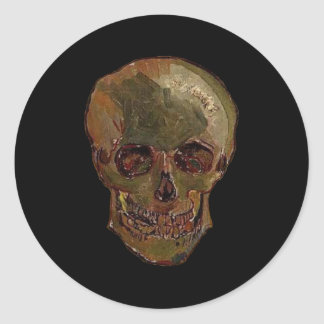 A Skull by Vincent van Gogh Sticker