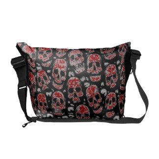 A Skull Messenger Bag. You can change skull colors