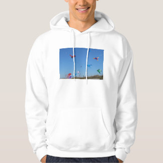 A sky full of Multi Color Kites Pullover