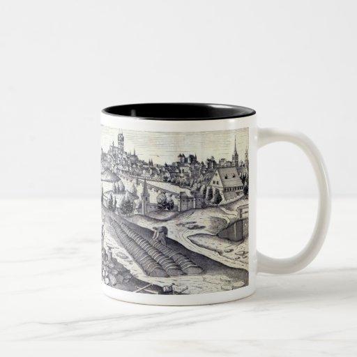 A Slate Quarry in Angers, 1561 Coffee Mug