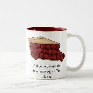 A Slice of Cherry Pie Mug