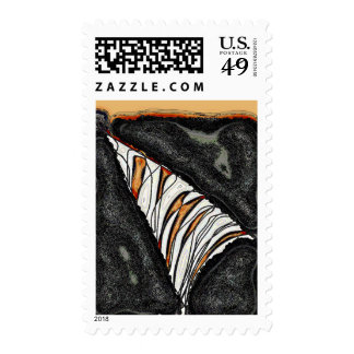 A Slice of Orange Postage