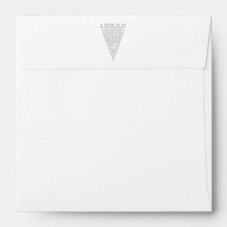 A Slice of Pi Digits Envelope