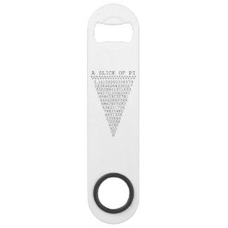 A Slice of Pi Speed Bottle Opener