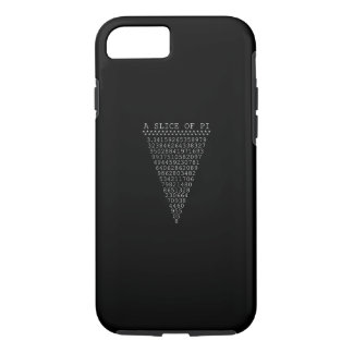 A Slice of Pi Typography iPhone 8/7 Case