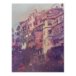A Slice of Riomaggiore Postcard