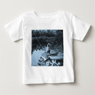 A Slight Nibble - Vintage 1906 Stereoview Baby T-Shirt