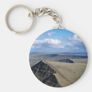 A sloping sandstone escarpment of Brecon Beacons, Key Chains