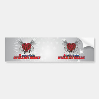 A Slovak Stole my Heart Bumper Stickers