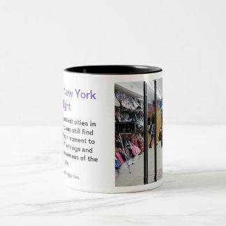 A Slow New York Night Two-Tone Coffee Mug