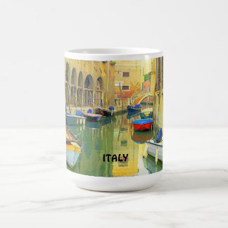 A SMALL CANAL, ITALY CLASSIC WHITE COFFEE MUG