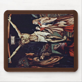 A Small Crucifixion: Christ On The Cross, Mary Mag Mouse Pad