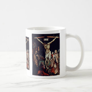 A Small Crucifixion Christ On The Cross Mary Mag Mug