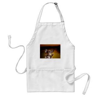 A small dog named Bosse Adult Apron