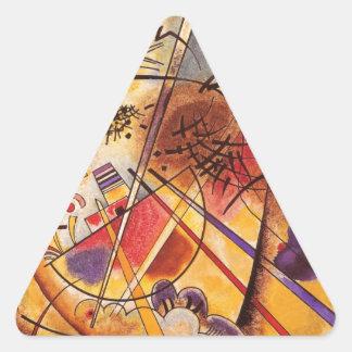 A Small Dream In Red Triangle Sticker