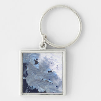 A small field of glaciers surrounds Baffin Bay Keychain