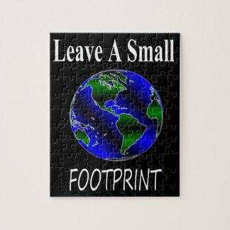 A Small Footprint Globe Jigsaw Puzzle