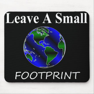 A Small Footprint Globe Mouse Pad