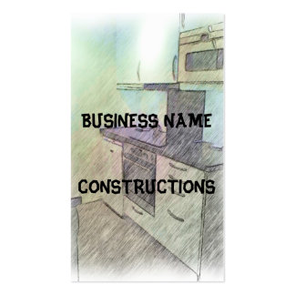 A small Kitchen Business Card