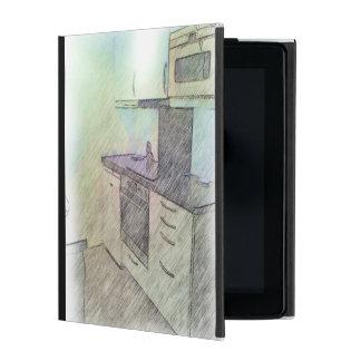 A small Kitchen iPad Folio Case