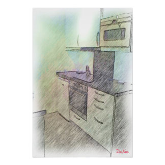 A small Kitchen Poster