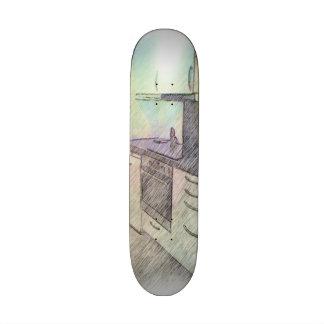 A small Kitchen Custom Skate Board