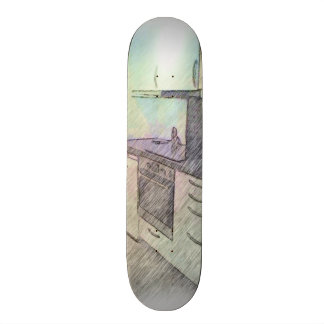 A small Kitchen Skateboard
