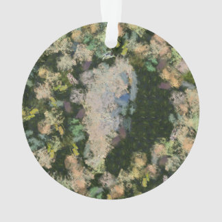 A small lake in the forest ornament
